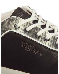 Alexander McQueen X Puma   Black Deck Lo Trainers for Men   Lyst