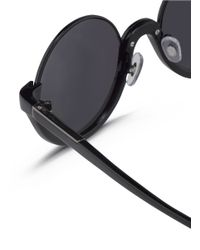 3.1 Phillip Lim - Black X Linda Farrow Stainless Steel Rim Half Moon Sunglasses - Lyst