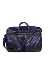 Porter | Blue Two-way Camo Duffel Bag for Men | Lyst