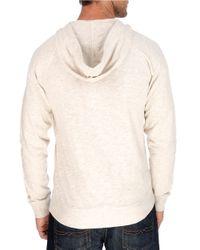 Lucky Brand | Natural Lightweight Henley Sweatshirt for Men | Lyst
