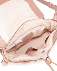 See By Chloé - Pink Vicki Vachetta Leather Crossbody Bag - Lyst