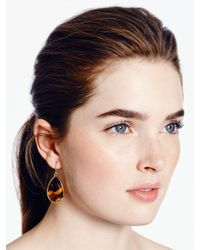 kate spade new york - Brown Day Tripper Earrings - Lyst