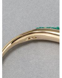 Helena Rohner - Metallic Gb21l Brass Bangle with Glass Bead - Lyst