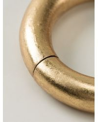 Monies | Metallic Bangle | Lyst