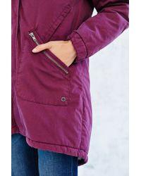 Numph   Purple Rebecca Parka   Lyst