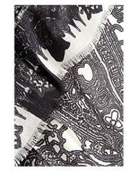 Etro - Gray Wool-Silk Paisley Print Scarf - Lyst