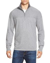 The North Face | Gray 'mt. Tam' Quarter Zip Sweater | Lyst