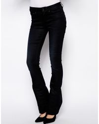G-Star RAW - Black Contour Bootcut Jeans - Lyst