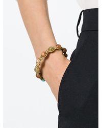 Shamballa Jewels - Brown Beaded Bracelet - Lyst