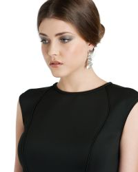 Ted Baker - Metallic Beaded Cluster Earring - Lyst