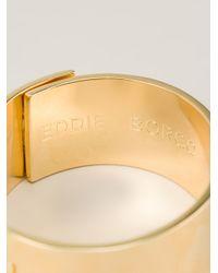 Eddie Borgo - Metallic Safety Chain Cuff - Lyst