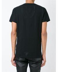 Tom Rebl - Black Printed T-shirt for Men - Lyst