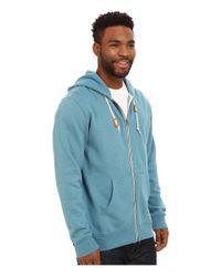 Vans - Blue Core Basic Zip Hoodie Iii for Men - Lyst