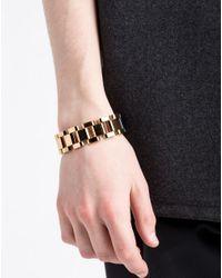 Lanvin - Metallic Bracelet for Men - Lyst