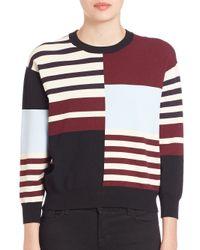 J Brand - Multicolor San Marino Multi-stripe Sweater - Lyst
