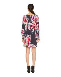 kate spade new york | Blue Hazy Floral Cordette Dress | Lyst