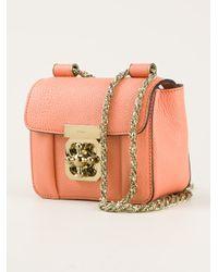 b3398ef930c Lyst - Chloé Mini Elsie Bag in Pink