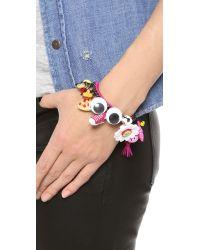 Venessa Arizaga - Pink Mira Mikati Look At Me Bracelet - Lyst