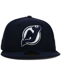 KTZ | Blue New Jersey Devils C-Dub 59Fifty Cap for Men | Lyst