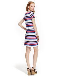 Tommy Hilfiger   Multicolor Lighthouse Multi-Stripe Sheath Dress   Lyst