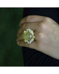 Wendy Yue | Metallic Rutilated Quartz Ring | Lyst