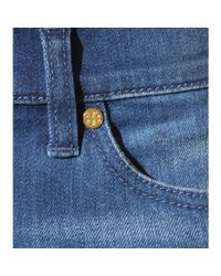 Tory Burch - Blue Flared Jeans - Lyst