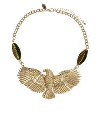 Sam Ubhi | Metallic Eagle Necklace | Lyst