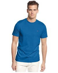 Tommy Hilfiger | Blue Beach Logo T-shirt for Men | Lyst