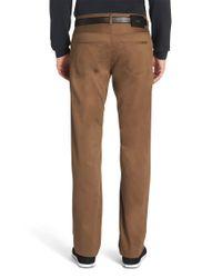 BOSS Natural Regular-fit Cotton Trousers: 't-truman-10' for men