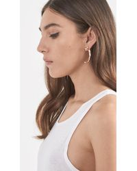 Pamela Love | Metallic Eagle Claw Earring | Lyst