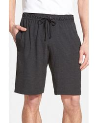 Nike | Black Dri-fit Touch Fleece Shorts for Men | Lyst
