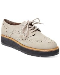 Steve Madden - Gray Tracey Lace-up Oxfords - Lyst