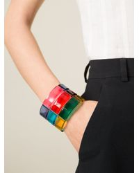 Valentino | Multicolor Rigid Cuff | Lyst