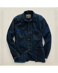 RRL - Blue Allen Work Jacket for Men - Lyst