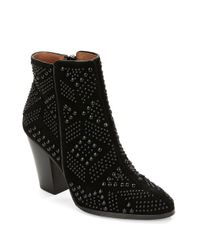 Donald J Pliner - Black Swift Suede Mid-calf Boots - Lyst