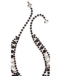 Tom Binns - Black Dumont Pearl Noir Tiered Necklace - Lyst