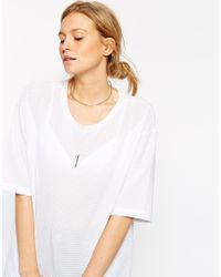 ASOS | Metallic Torque And Chain Necklace | Lyst