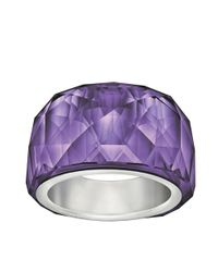 Swarovski - Purple Nirvana Petite Ring - Lyst