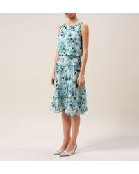 Hobbs | Blue Princess Elizabeth Dress | Lyst