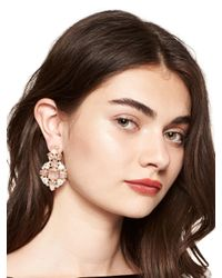 kate spade new york | Multicolor Make Me Blush Statement Earrings | Lyst