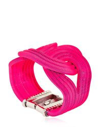 Lara Bohinc - Pink Solar Eclipse Bracelet - Lyst