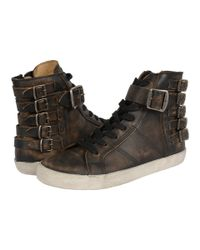 Frye - Brown Dylan Belted High - Lyst