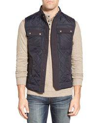 Jeremiah - Blue 'dane' Quilted Nylon Vest for Men - Lyst