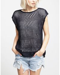 Wool And The Gang | Blue Agyness Top | Lyst