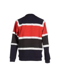 Ainea - Red Sweatshirt for Men - Lyst