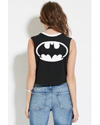 Forever 21 - Black Batman Graphic Tank You've Been Added To The Waitlist - Lyst