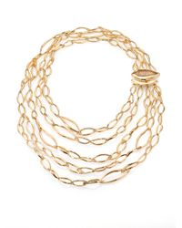 Alexis Bittar - Metallic Rutilated Quartz Infinity Link Multichain Necklace - Lyst