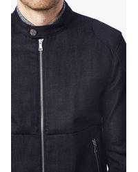 7 For All Mankind - Blue Rider Jacket In Raw Indigo for Men - Lyst
