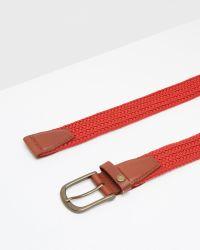 Ted Baker - Colored Elastic Belt for Men - Lyst