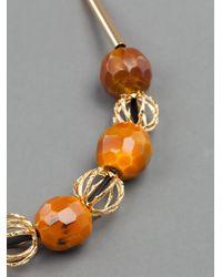 Marni | Orange Ribbon-tie Necklace | Lyst